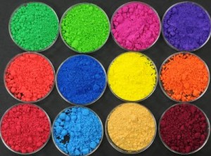 Chemical compounds called pigments