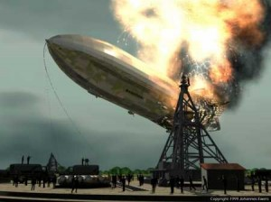 German Hindenburg airship