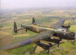Lancaster Bomber plane