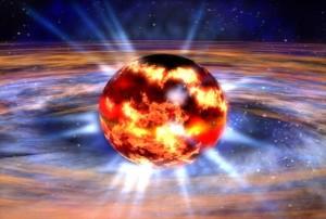 Stellar Quake Explosion