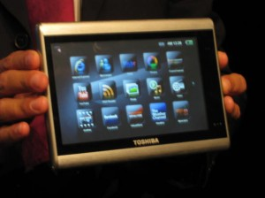 Touch-Screen Tablets Work