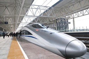 Fastest train in the China