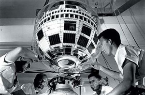 First Communication Satellite