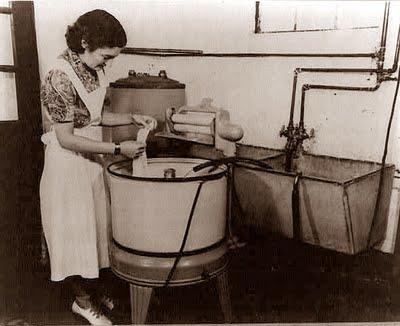 First Electric Washing Machine