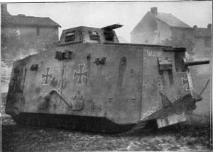 German Tank in WWI