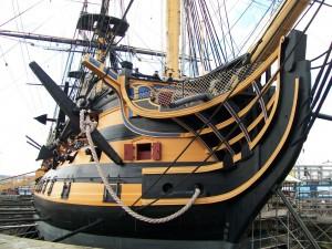 HMS Victory parts