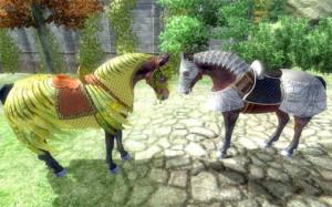 Horse Armor in Medieval Combat