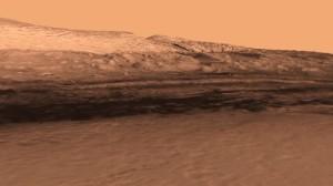 Landing site mars