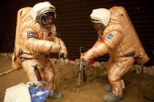 Martian experiments