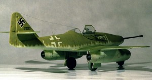 Messerschmitt Me 262 fighter jet
