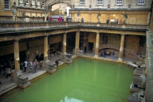 Roman Baths Heated