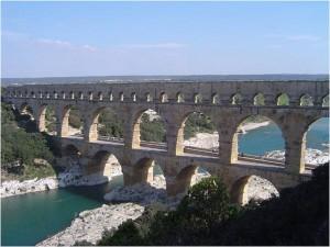 Roman aqueduct design