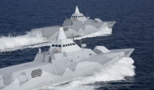 Visby Stealth Warships