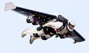 Yves Rossy Fly With the Jetman