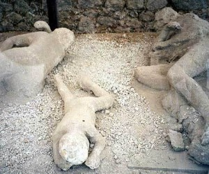 pompeii dead