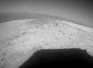 Winter on Mars