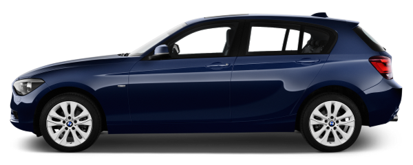 BMW 125i side