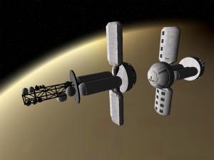 Cytherean satellite