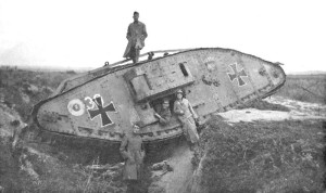 German tank in ww1