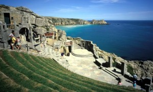 Minack Theatre car park