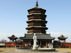 Pagoda Of Fogong Temple
