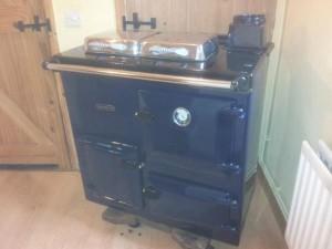 Rayburn gas oven