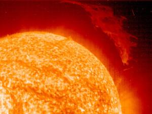 Sun's surface