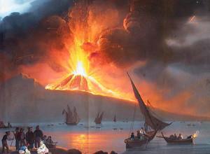 Vesuvius Erupt