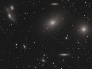 Virgo Cluster Of Galaxies