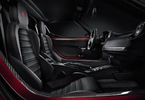 2013-2014 Alfa Romeo 4C interior