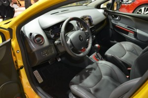 2013 Renault Clio RS 200 interior