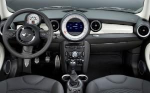 2014 Mini Cooper interior