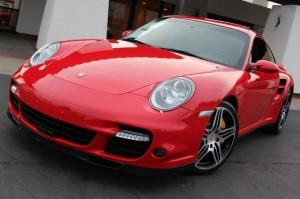 porsche 911 turbo red