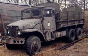 6x6 Cargo Army Truck