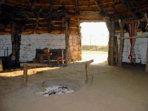 Celtic Roundhouse inside