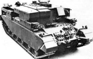 Centurion ARV II Tank