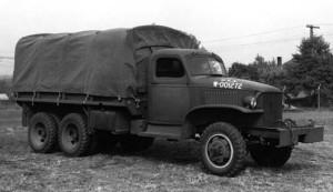 GMC 6x6 Cargo Army Truck
