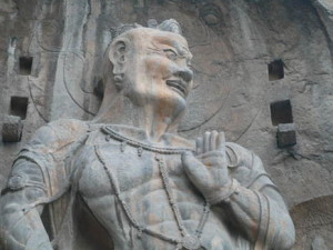 Statues Of Longmen Grottoes
